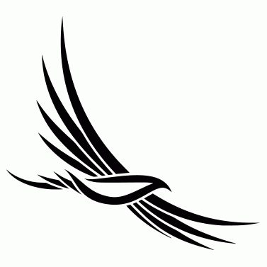 Tattoo design: Bird 3