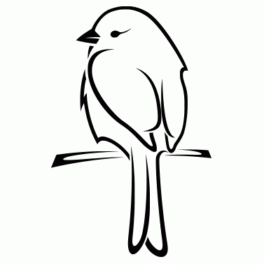 Tattoo design: Bird 6
