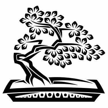 Tattoo design: Bonsai 2