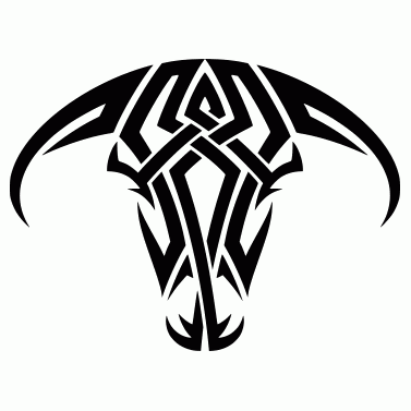 Tattoo design: Bull 3