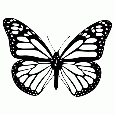 Tattoo design: Butterfly 1