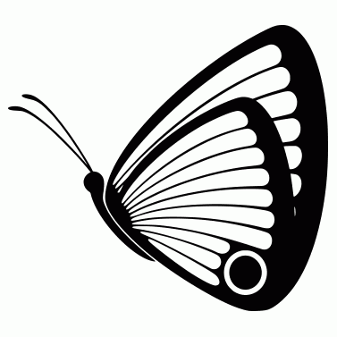Tattoo design: Butterfly 10