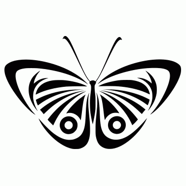 Tattoo design: Butterfly 11