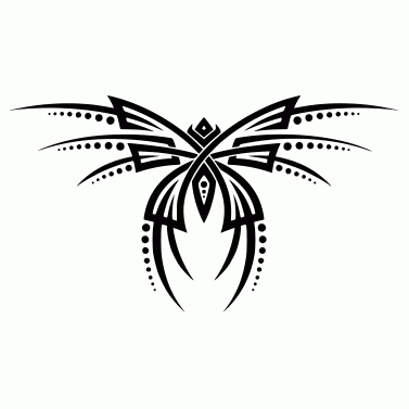 Tattoo design: Butterfly 16