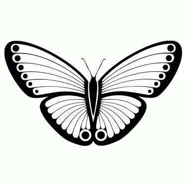 Tattoo design: Butterfly 5