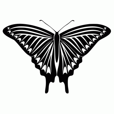 Tattoo design: Butterfly 6