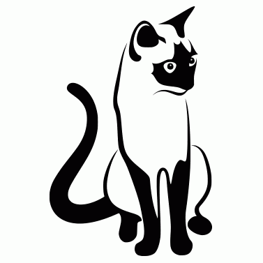 Tattoo design: Cat 2