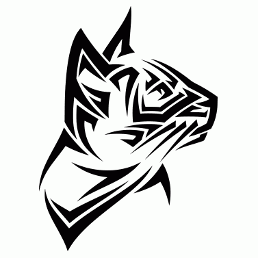 Tattoo design: Cat 3