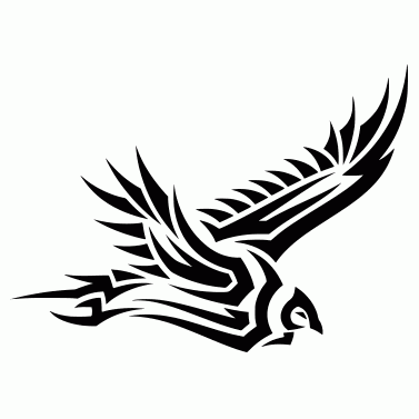 Tattoo design: Condor 2