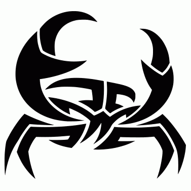 Tattoo design: Crab 2