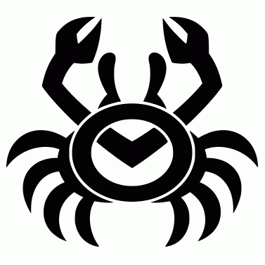 Tattoo design: Crab 3