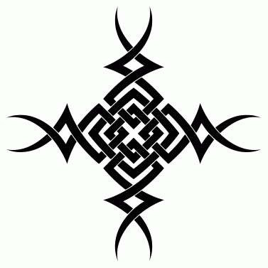 Tattoo design: Cross 1