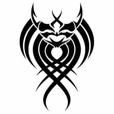 Tattoo design: Demon 4
