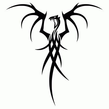Tattoo design: Dragon 20