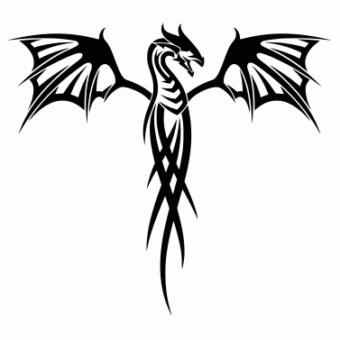 Tattoo design: Dragon 21