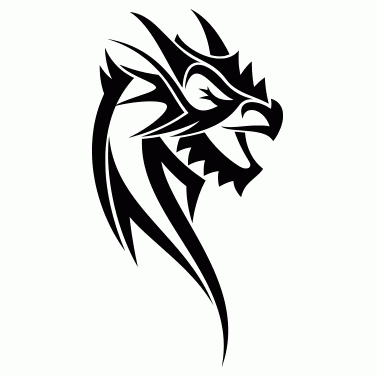 Tattoo design: Dragon 22