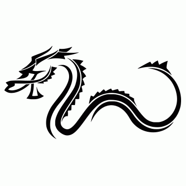 Tattoo design: Dragon 25