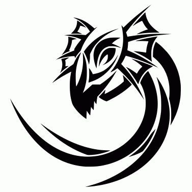 Tattoo design: Dragon 29