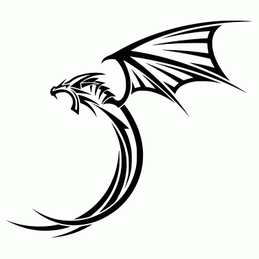 Tattoo design: Dragon 35
