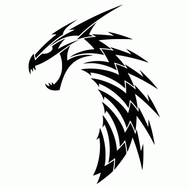 Tattoo design: Dragon 6