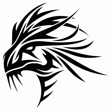Tattoo design: Dragon 7