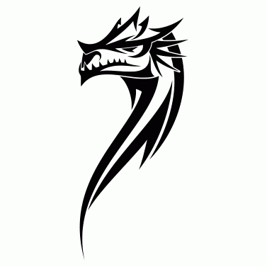 Tattoo design: Dragon 9