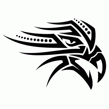 Tattoo design: Eagle 10
