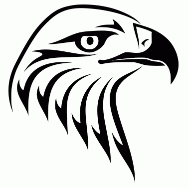 Tattoo design: Eagle 3