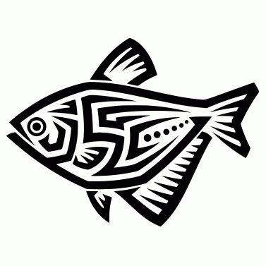 Tattoo design: Fish 12