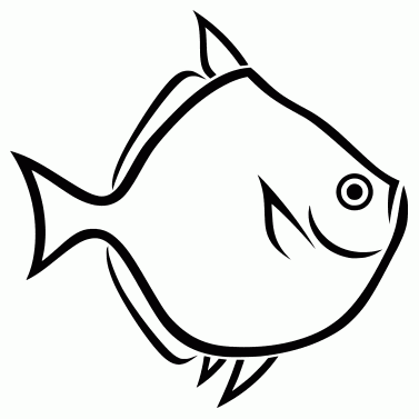 Tattoo design: Fish 3