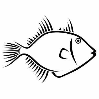 Tattoo design: Fish 4