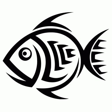 Tattoo design: Fish 6