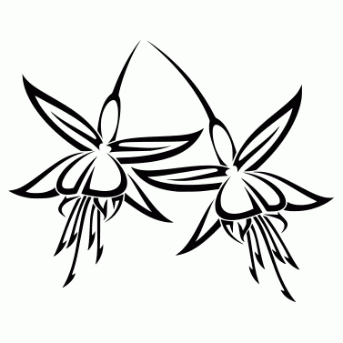 Tattoo design: Flower 10