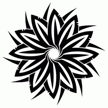 Tattoo design: Flower 11