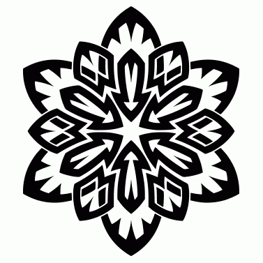 Tattoo design: Flower 16