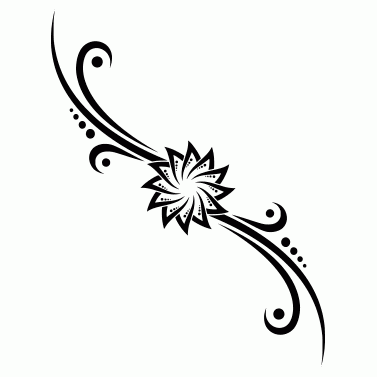 Tattoo design: Flower 22