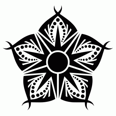 Tattoo design: Flower 33