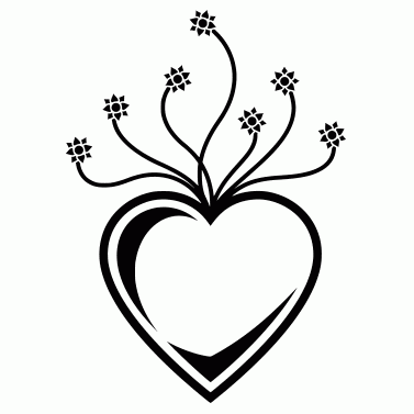Tattoo design: Heart 3