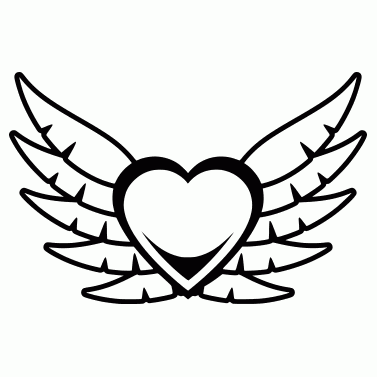 Tattoo design: Heart 4