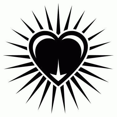 Tattoo design: Heart 5