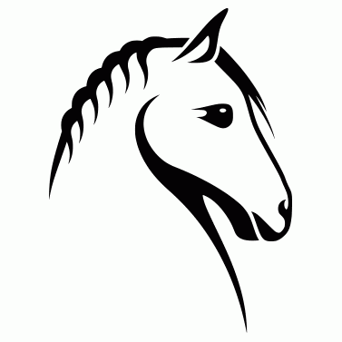 Tattoo design: Horse 1