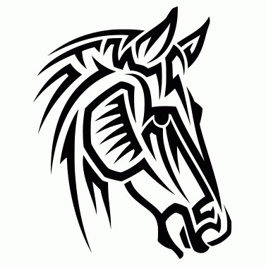 Tattoo design: Horse 5