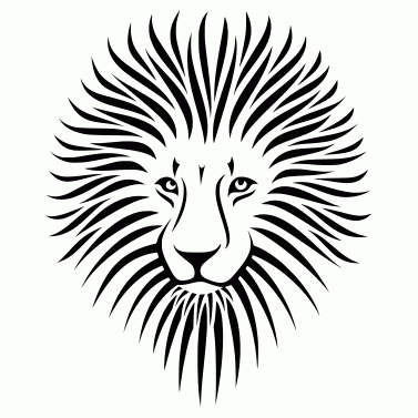 Tattoo design: Lion 2
