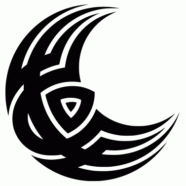 Tattoo design: Moon 7