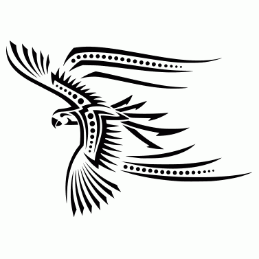 Tattoo design: Parrot 3