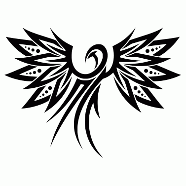 Tattoo design: Phoenix 2