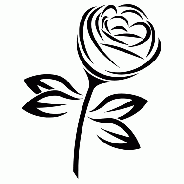 Tattoo design: Rose 5