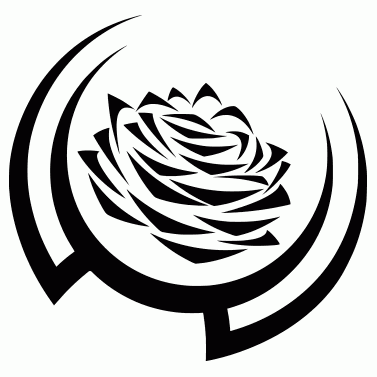 Tattoo design: Rose 7
