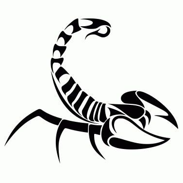 Tattoo design: Scorpion 2