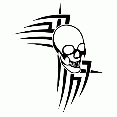 Tattoo design: Skull 3